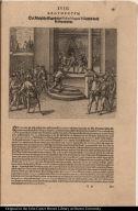 Der Königliche Statthalter Blascus Nunnez Vella wird in ein Gefängnuss gelegt.