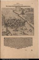 Wie der Indianer Brucken seyen von Seilen zusammen geflochten und vom Farth Guaynacapae.