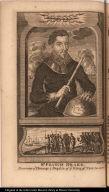 Sr. Francis Drake. Receiving ye Homage & Regalia of ye King of New Albion.