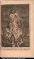 The Honble. Edward Boscawen Admiral of ye blue Squadron of his Majtys. Fleet and one of the Lords Comrs. of the Admiralty