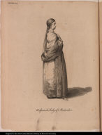 A Spanish Lady of Montevideo.