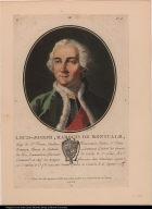 Louis-Joseph, Marquis de Montcalm ... Commandt. en Chef des troupes françoises dans l'Amérique septentle. ...