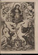 Santa Rosa de S. Maria natural de Lima y patrona de Peru