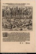 Valboa wirfft etliche Indianer welche die schreckliche Sünd der Sodomen begangen den hunden für sie zuzerreissen.