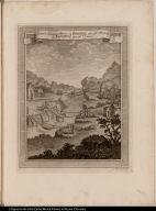 1. Ponte di Liana, ò Bejuco. 2. Tarabita per gl'Animali. 3. Tarabita per gl'Uomini.