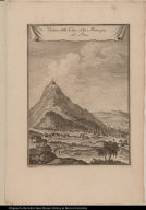 Veduta della Citta, e della Montagna del Potosi