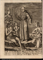 V. R. de el V. P. F. Antonio Margìl de Jesus, Predr. Apost. Guard. y Fundador de los tres Colegios ...