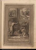 El Demonio en figura de Negro, y cargado de horcas, y palas, se te apareze al Bto. y le ofreze su aiuda