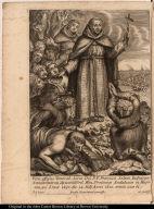 Vera effigies Venerab. Servi Dei P. F. Francisci Solani Indiarum Concionatoris Apostolici Ord. Min. Provinciae Andalusiae in Hispania, qui Limae obijt die 14. Julij Anno 1610 aetatis suce 61