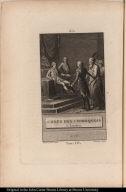 Chefs des Chiroquois à Londres en 1762.