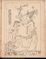 [Palenque relief. Subjection of prisoner?]