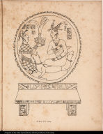 [Palenque relief. Presentation of crown to ruler]