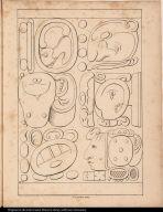 [Palenque relief. Glyphs]