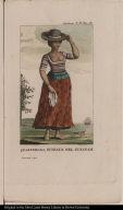 Quarterona, Schiava nel Surinam.