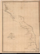 Chart of a Part of the Western Coast of Baffins Bay. 1820.