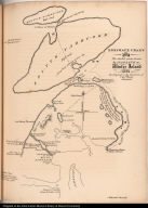 Eskimaux Chart. No. 2 The shaded parts drawn by Iligliuk at Winter Island 1822.