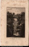 Vue du pont de Roche.
