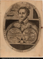 Thomas Candyssh nobilis Anglus aetatis suae XXXII.