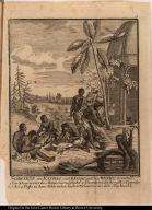 Schwarze von Kachao und Bissao, welche manioc bereiten.