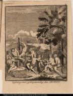 Opferung eines gefangenen bey de Antiern