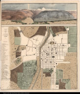 Plan of the City of Santiago, the Capital of Chile.