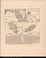 Cartes particulieres Des Concessions faites par l'Angleterre à la France et à l'Espagne par le Traité de 1783.