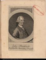 John Hankock Praesident des American Congresses