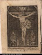Rto. de la hermosissima Imagen de N.S. Crusificado, y milagrosamente renovado; q. se venera en el Cto. antiguo de Sras. Carmelitas descalzas de Mexico.