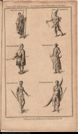 The Hottentot; The American; The Laplander; The Chinese; The African; A Greenlander