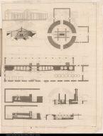 Plans de Sucrecrie et de Fourneaux suivant l'ancienne Méthode.