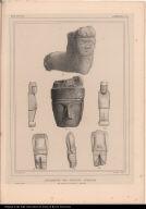 Antiquités des Indiens Aymaras des rives du Lac de Titicaca. (Bolivia.)