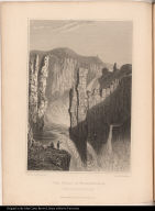 The Falls of Wilberforce. Estimated at 250 feet high.