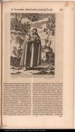 P. Ignatius Azevedius S. I. Illustrissimâ Lusitaniae familiâ oriundus, in itinere Brasilo à Calvinistis pro Catholica Religione mari demers[us] A. 1570 15 Julij