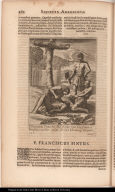 P. Franciscus Pintus Soc: Iesu, odio fidei Christianae à Brasilis crudeliter occisus. A. 1608. 11 Ianuarij, Ibiapanae