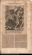 P. Ioannes del Castillio illustri sanguine Hispana Soc: Iesu, Fidei odio ab Idololatris in Paraquaria crudelissimâ per faxa et spinas raptatione necatus 17. Novemb. A. 1628.