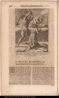 P. Petrus Romerus Hispanus et Matthaeus Fernandez Indus Soc: Iesu, crudeliter ab Idololatris in Paraquaria apud Itatines occisi, zz. Martij. A. 1645.