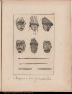 Masques et Armes des Ounalaschkans.