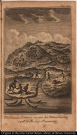 Robinson Crusoe rescues his Man Friday and Kills his Persuers.