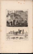 [top] Blanchisseuses à la Rivière. [bottom] Maquignons Paulistes.