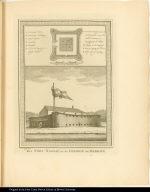 Het Fort Nassau op de Colonie de Berbice.