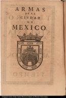 Armas de la ciudad de Mexico
