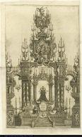 [Catafalque for Maria Amalia de Saxonia, consort to Carlos III]