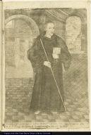 Verdadera Efigie del Siervo de Dios F. Franco. Camacho, que fallegio en este Con[vent]o de Sr. Sn. Diego de Lima ...