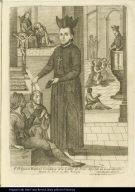 V. P. Ignacio Raphael Coromina dela Comp[ani]a de Jesus Apostal de Guanajuato murio de 55. a[no]s en d[ic]ho Colegio