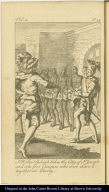 Sr. Walter Raleigh takes the City of St. Joseph and sets five Caciques who were chain'd together at Liberty.