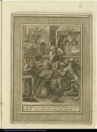 Mortifican los Demonios al Bto. Aparizio, apareziendosele en la Oracion en horribles figuras