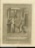 Pasa de Morador al Conv[en]to. de Puebla el Bto. Aparizio, donde le entregan dos Caretas con sus Bueyes, para que recolecte todas la limosnas de la Guarda.