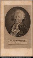 De Bougainville. Vice-Amiral des armées navales de France. Né en 1728.