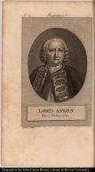 Lord Anson Mort à Londres en 1762.