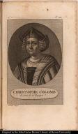 Christophe Colomb de retour de ses Voyages.